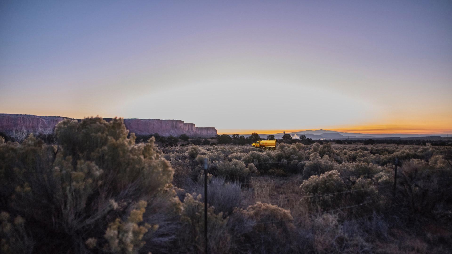 Navajo Water Project landscape