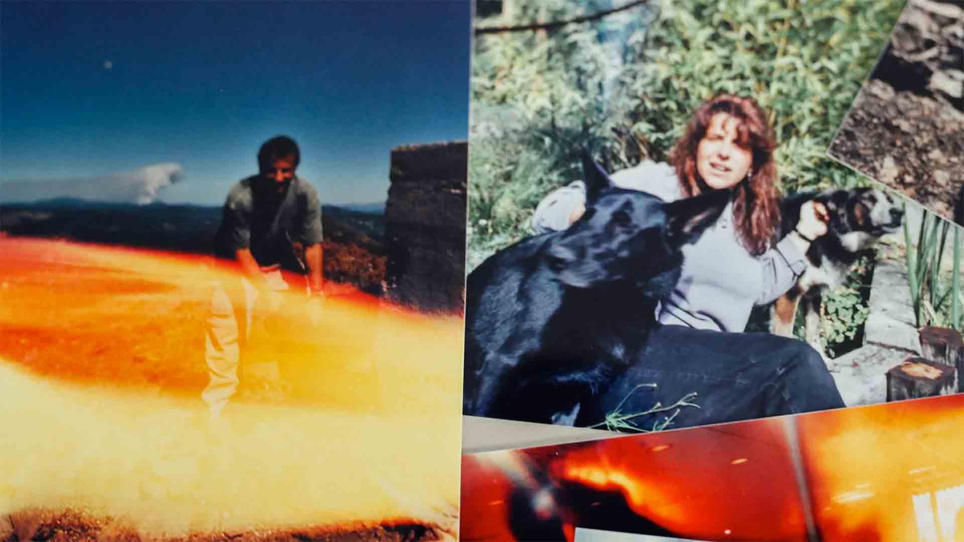 Photos of Rich and Lori around 2001.