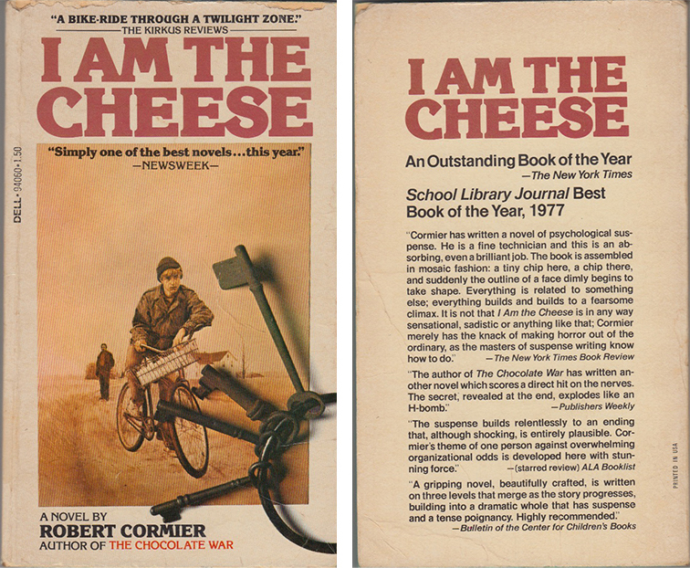 i am the cheese front and back