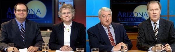 Jim Nintzel, Ann Brown, Mark Kimble and Bill Buckmaster