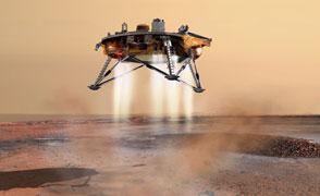 Phoenix Mars Lander Landing
