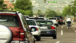 Traffic on Speedway in Tucson