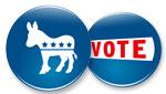 Dem vote buttons