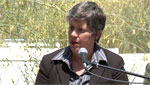 Homeland Security Chief Janet Napolitano visits border