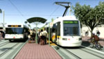 Tucson's modern streetcar and light rail transit system has benefited from Congressional earmarks.