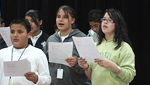 Wakefield students rehearse opera