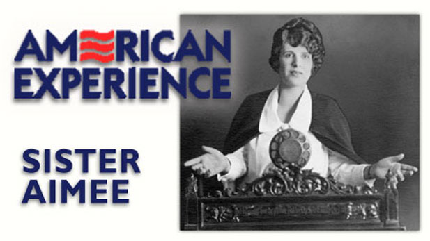 """Sister Aimee"" tells the dramatic life story of Aimee Semple McPherson"