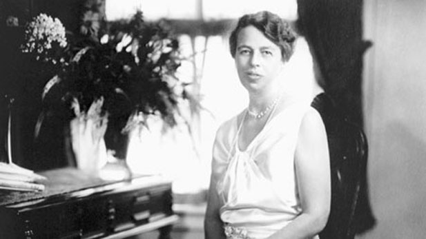 Eleanor Roosevelt, shown here dressed for the presidential inauguration on January 1, 1933.