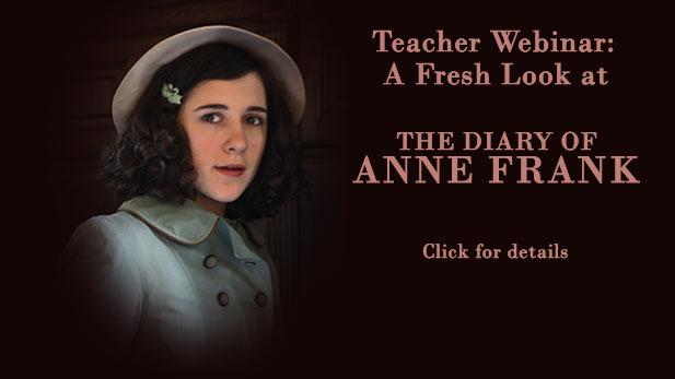 Anne Frank Webinar