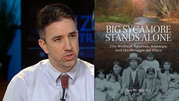 "Ian Record, Ph.D., author of ""Big Sycamore Stands Alone,"""