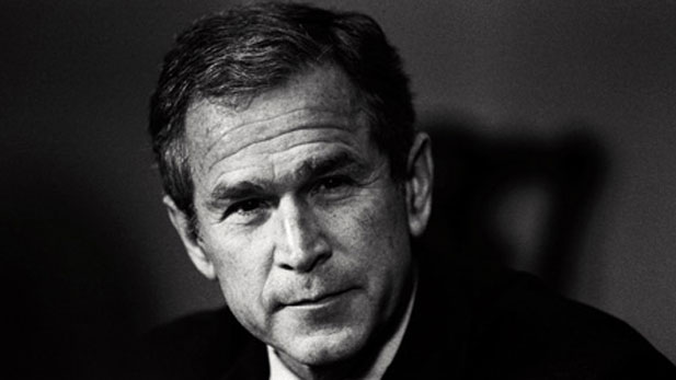 United states president george w bush