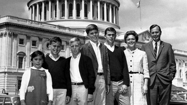 The Bush Family in Washington