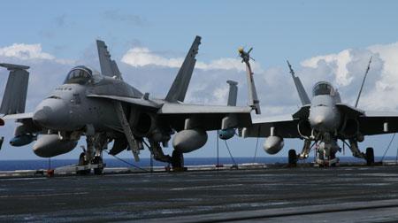 Jets aboard the _USS Nimitz_