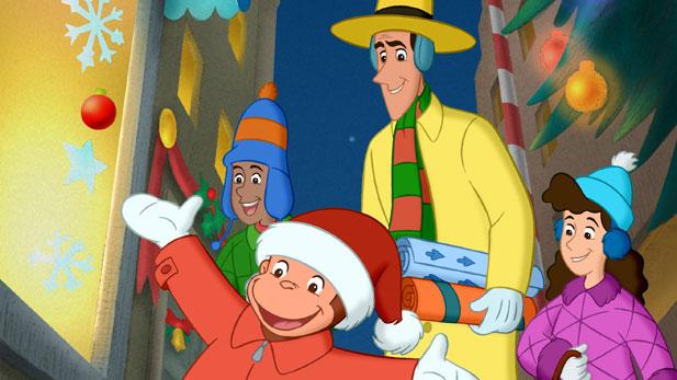 Curious George-A Very Monkey Christmas