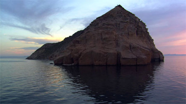 island in the Sea of Cortez