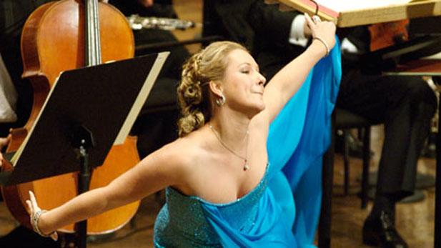 German soprano Diana Damrau