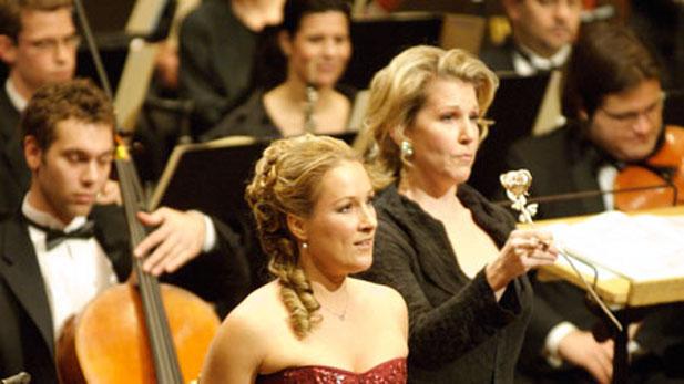 Soprano Diana Damrau and mezzo-soprano Joyce DiDonato