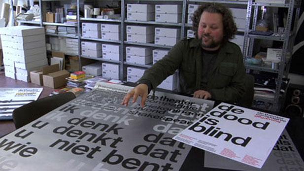 Danny van den Dungen of the Experimental Jetset design collective in Amsterdam.