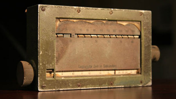 This palm-sized metal box, according to family lore, was pulled from the crash site of the Hindenburg.
