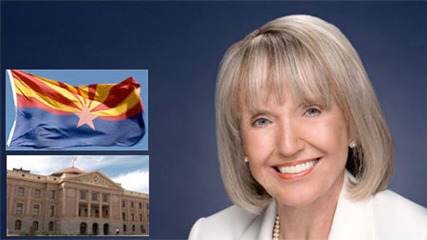 Arizona's Republican Governor Jan Brewer