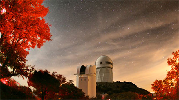 Kitt Peak at night, David Harvey