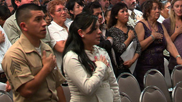 2008 Los Angeles Citizenship Ceremony
