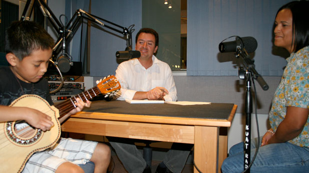 Musician Fernando Manzano, Tony Paniagua and Mrs. Manzano
