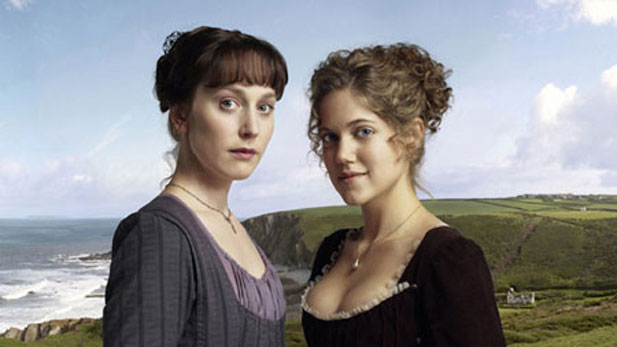 Hattie Morahan (left) plays levelheaded Elinor Dashwood and Charity Wakefield is her impulsive sister Marianne.