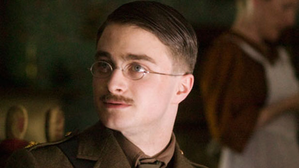 Daniel Radcliffe (Harry Potter) stars as a young man obsessed with serving his country