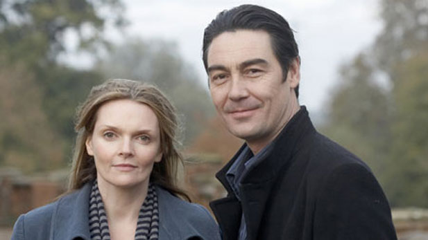 Sharon Small (left) as Sargeant Barbara Havers and Nathaniel Parker (right) as Inspector Thomas Lynley