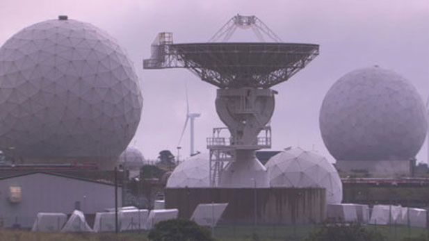 Satellite dishes used for eavesropping