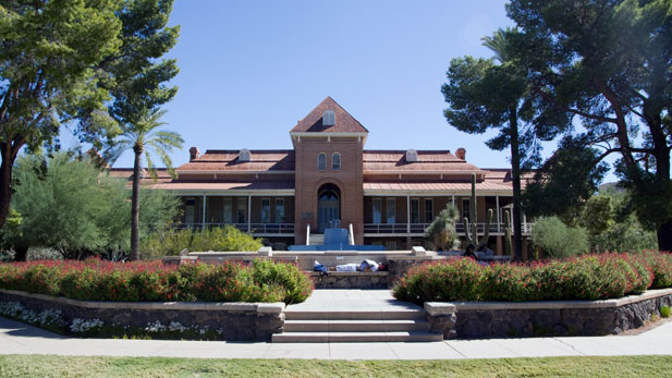 Old Main at the University of Arizona.
