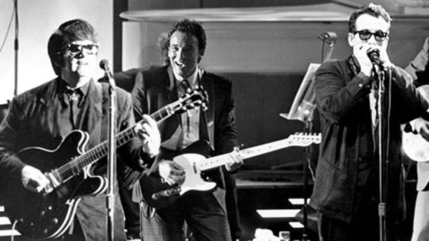 Roy Orbison, Bruce Springsteen and Elvis Costello