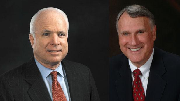 Senators John McCain and Jon Kyl