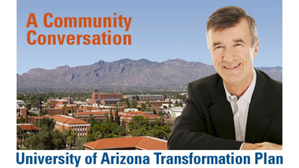 Robert N. Shelton, University of Arizona President