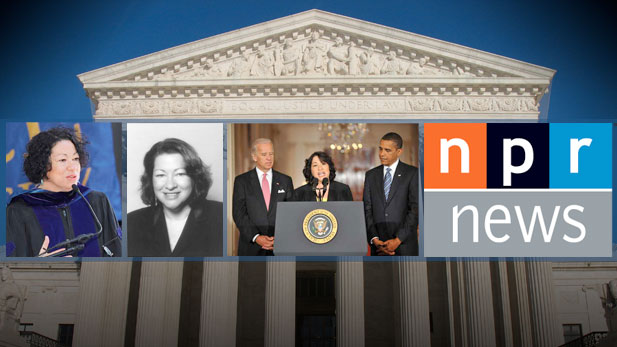 Sotomayor hearings on PBS-World