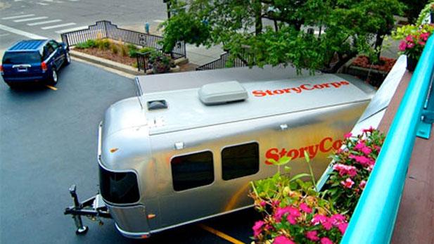 StoryCorps Airstream