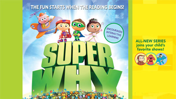 Super Why for grades 1-3