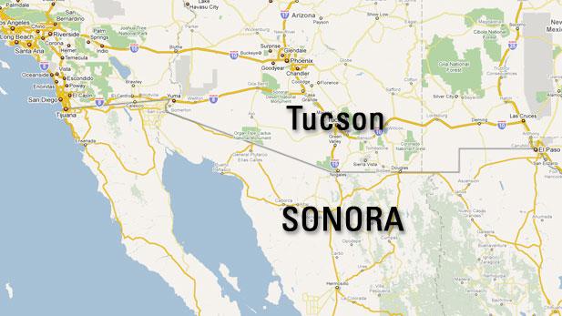 Tucson Sonora, Mexico