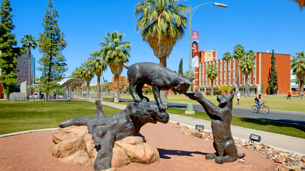 University of Arizona Mall sculpture