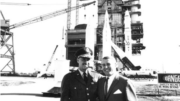 rocket pioneer Wernher von Braun