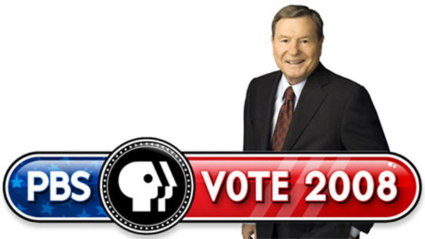 PBS' convention coverage, anchored by Jim Lehrer
